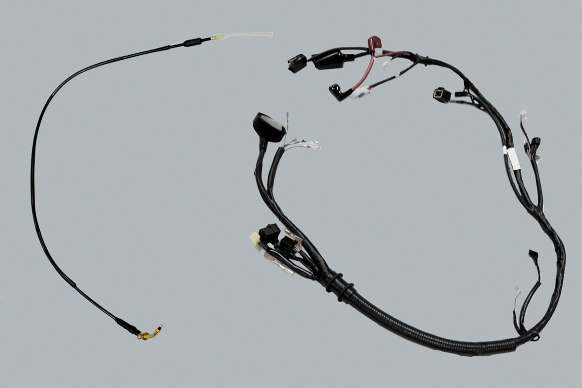 Imagem dos cabos da DK 150