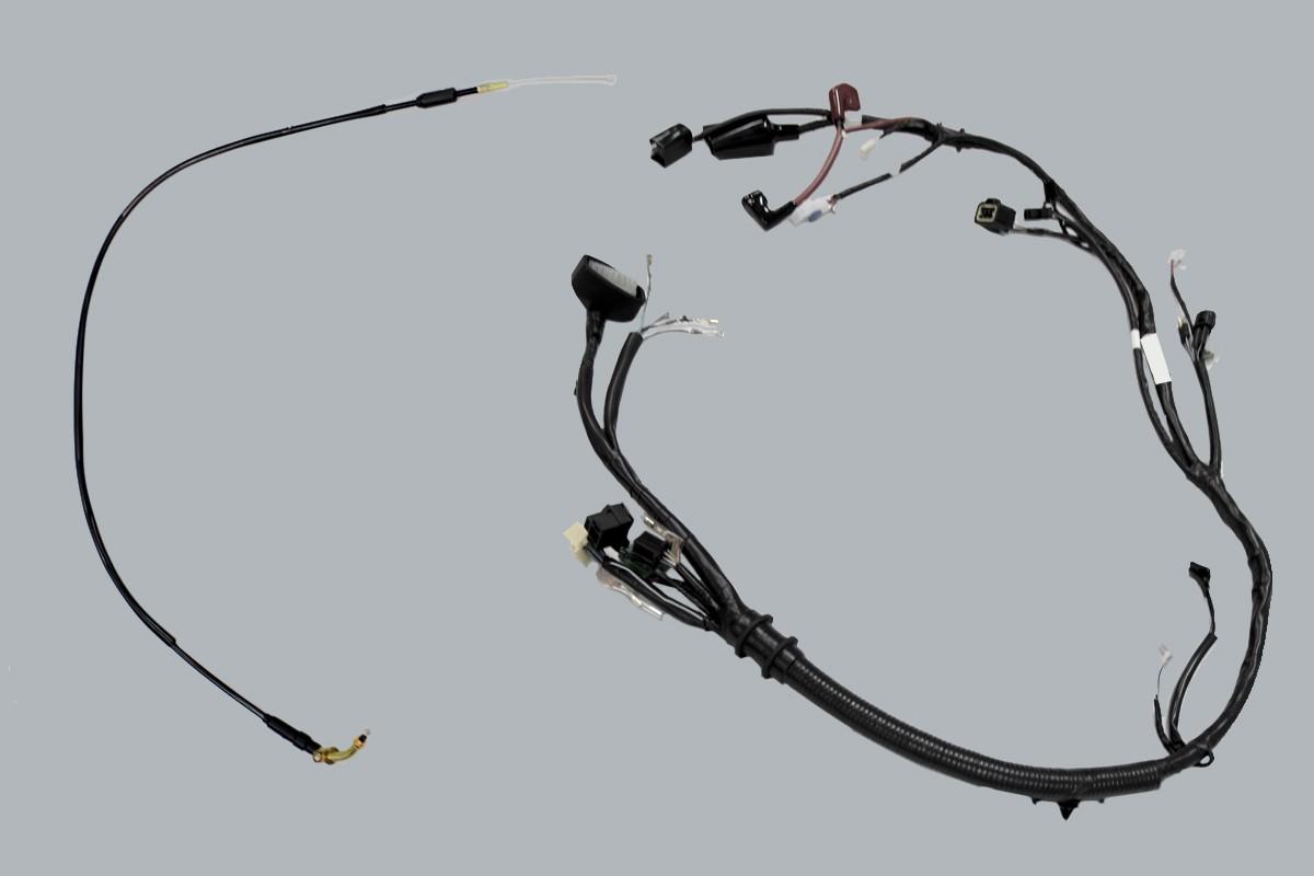 Imagem dos cabos de alta qualidade da Chopper