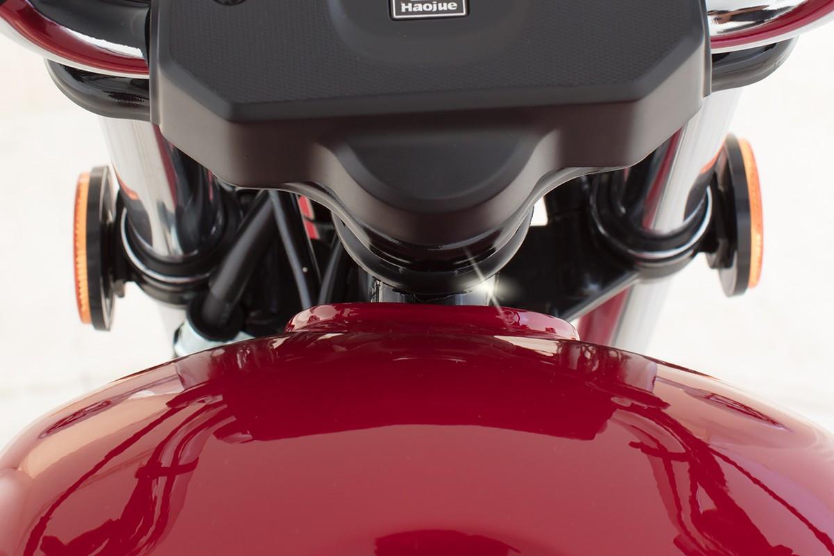 Imagem focada em freio alto da Chopper