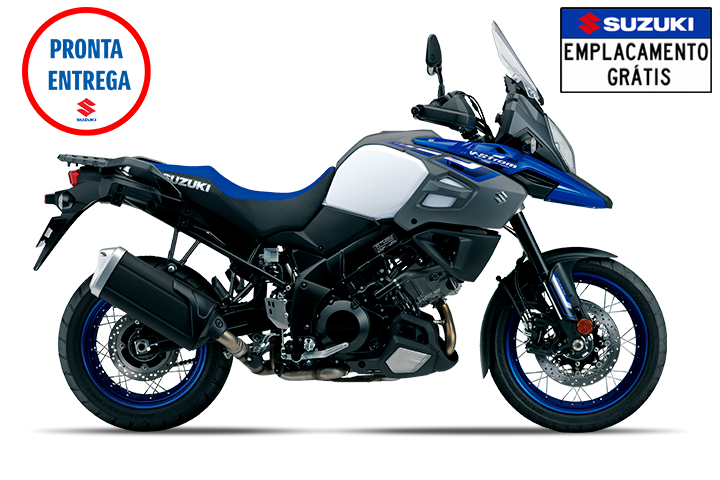 V-STROM 1000XT - PEARL VIGOR BLUE / PEARL GLACIER WHITE - Thumbnail