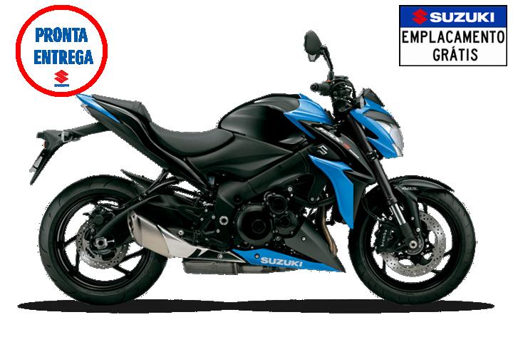 GSX-S1000 Preta e Azul