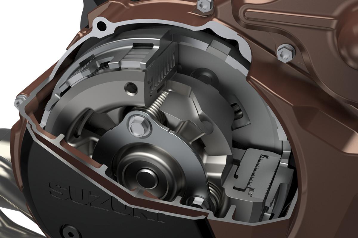 Sistema de assistência à embreagem Suzuki (SCAS) - Thumbnail