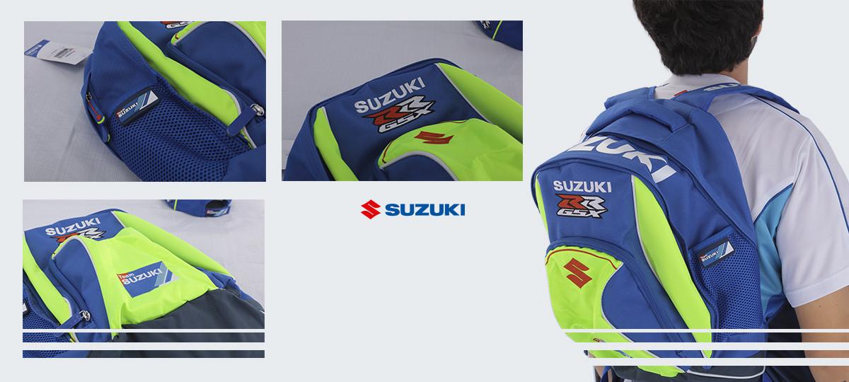 MOCHILA SUZUKI MOTO GP - Thumbnail