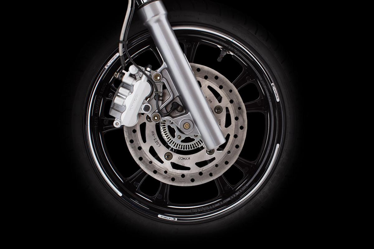 Sistema de freio da People GTi 300 ABS