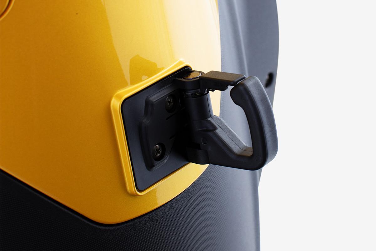 imagem do gancho fronta da People GTi 300 ABS amarela