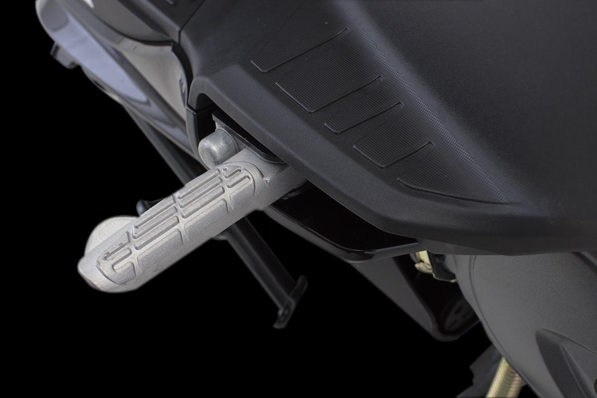 foto da pedaleira da Agility 16+200 i em um fundo preto
